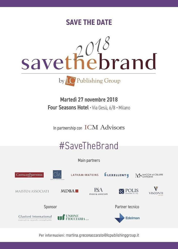 Save the brand 2018